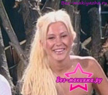 Анастасия Ковалева без макияжа