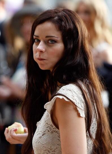 Марина Александрова без макияжа
