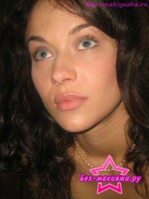 Мария Берсенева без макияжа