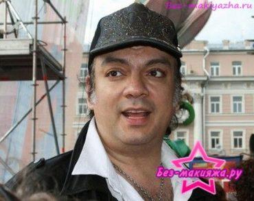 Филипп Киркоров без макияжа