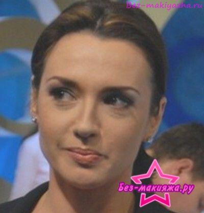 Оксана Марченко без макияжа