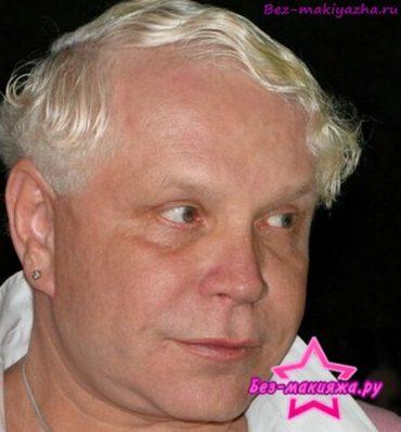 Борис Моисеев без макияжа