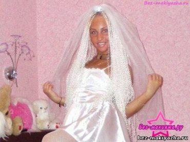 Алена Пискун без макияжа