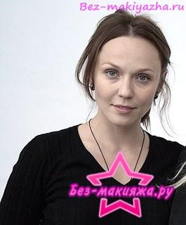 Альбина Джанабаева без макияжа