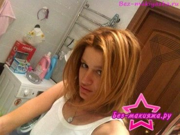 Ксения Бородина без макияжа