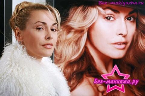 Ольга Сумская без макияжа