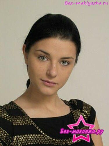 Анастасия Сиваева без макияжа
