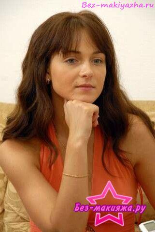 Анна Снаткина без макияжа