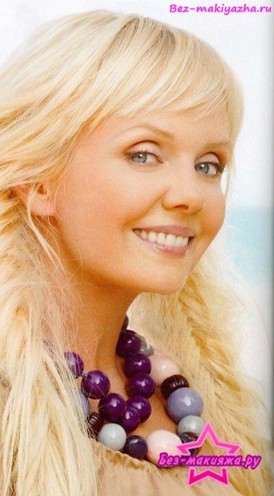 Певица Валерия без макияжа