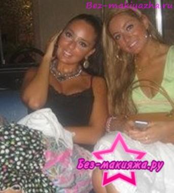 Лейла Алиева без макияжа
