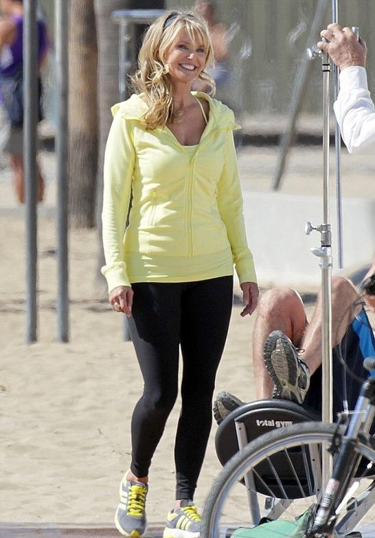 Кристи Бринкли без макияжа