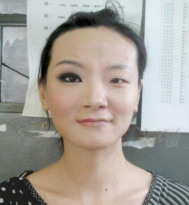 Кореянки без макияжа