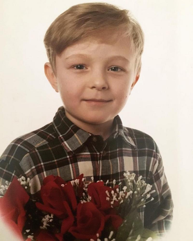 На фото: Егор Крид в детстве