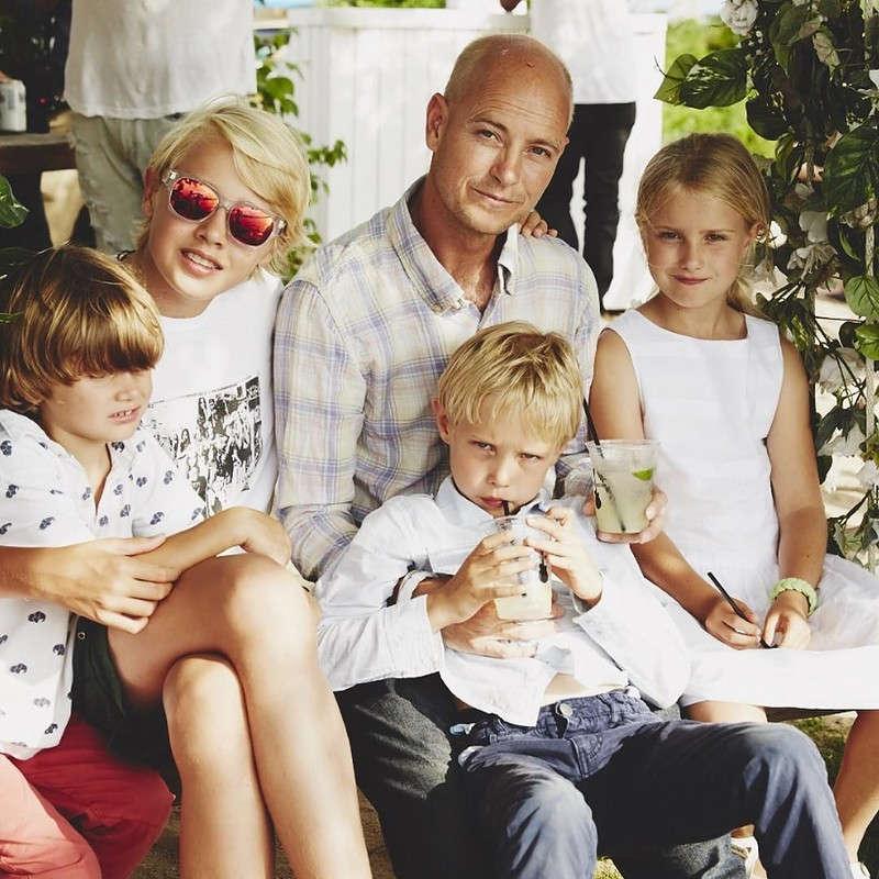 Дети Натальи Водяновой - фото всех детей и мужей модели