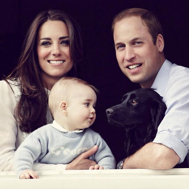 Дети Кейт Миддлтон и принца Уильяма - фото