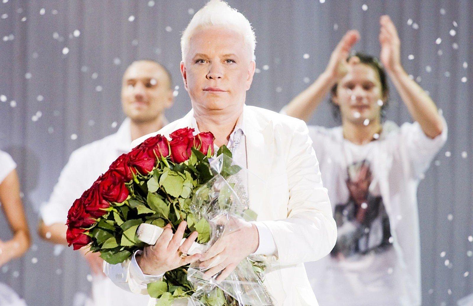 Борис Моисеев в молодости (фото)