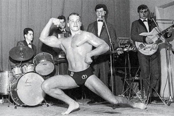 Арнольд Шварценеггер в молодости и сейчас - фото