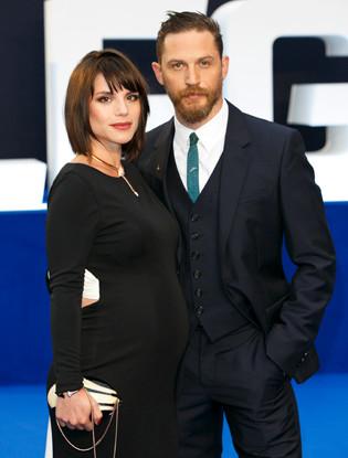 Жена Тома Харди фото