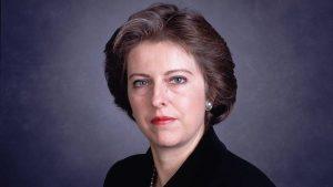 Тереза Мэй в молодости - фото, биография
