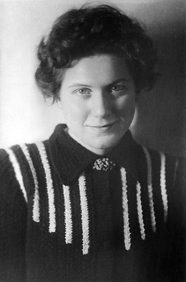 Светлана Аллилуева в молодости