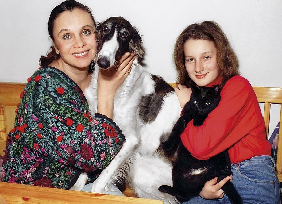 Дети Любови Полищук - фото, биография, личная жизнь