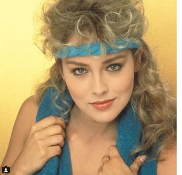 Шерон Стоун в молодости и сейчас - фото