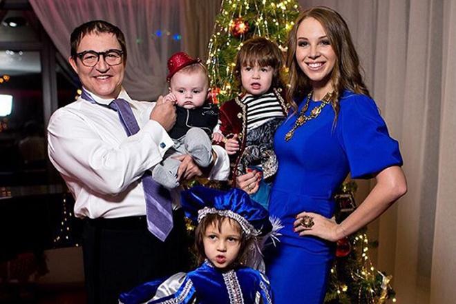 Дети Дмитрия Диброва - фото, биография, жены