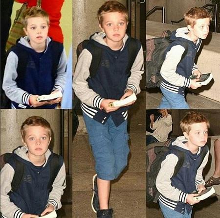 Дочь Анджелины Джоли и Брэда Питта Шайло считает себя мальчиком