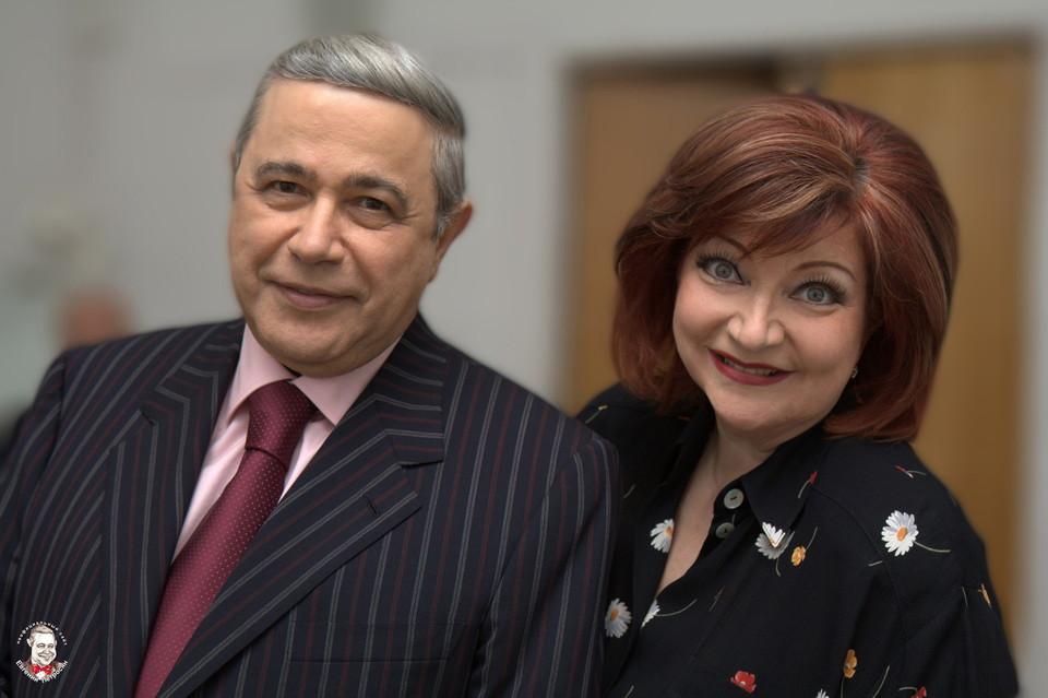 Евгений Петросян и его молодая жена — фото