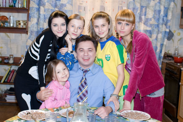 Дети Дарьи Мельниковой - фото