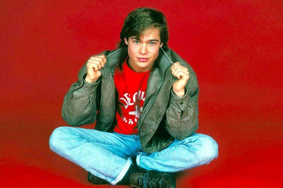Брэд Питт в молодости и сейчас - фото