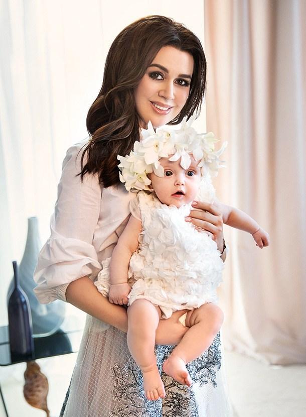Дочь Анастасии Заворотнюк, Мила - фото, последние новости
