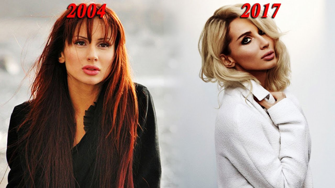 Светлана Лобода в молодости и сейчас - фото