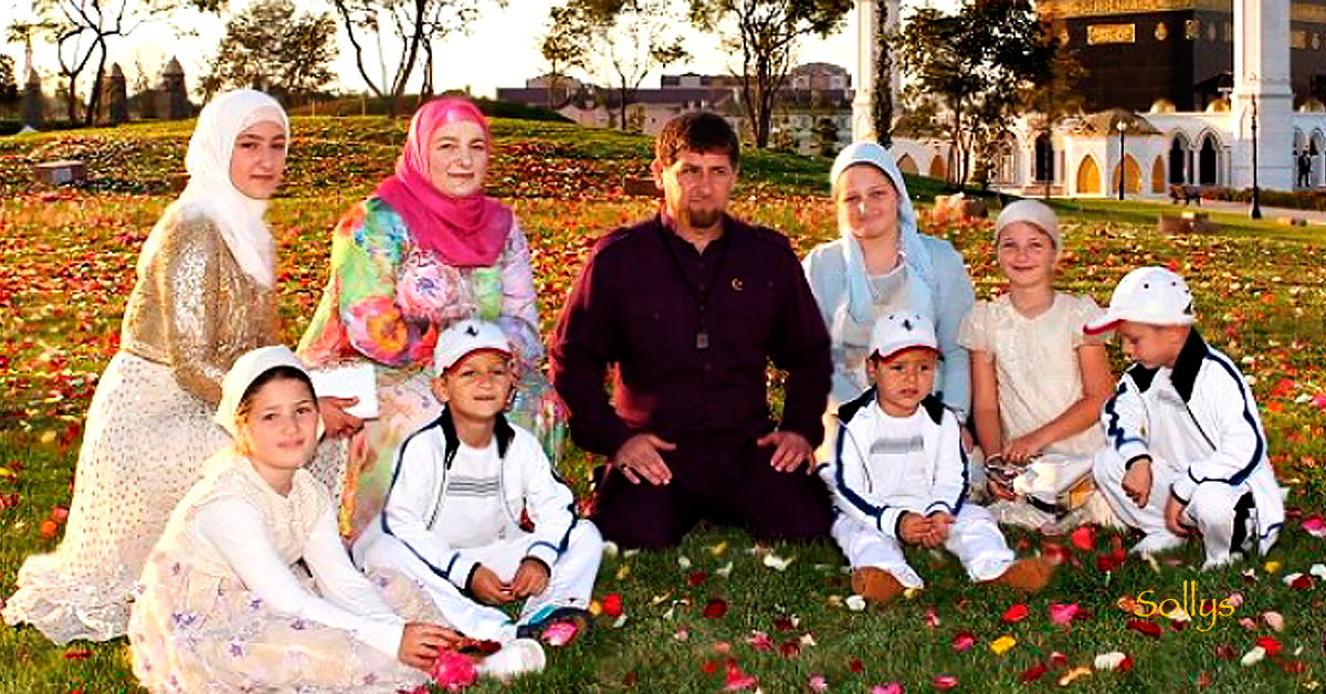 Дети Рамзана Кадырова – фото, сколько, семья