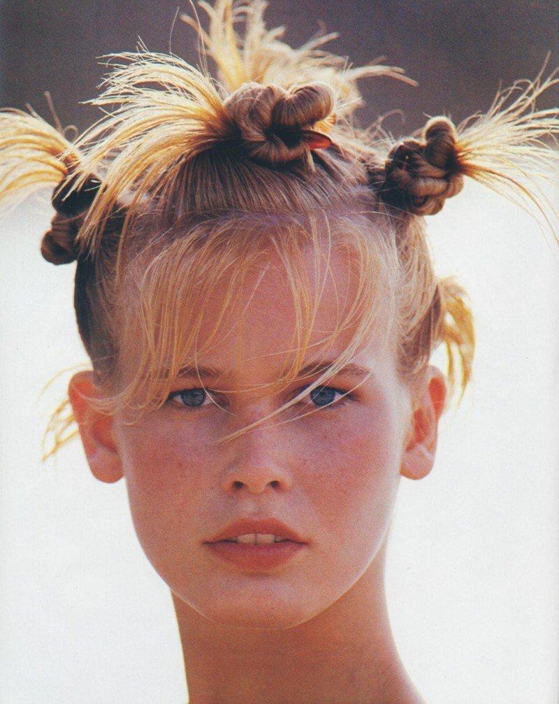 Клаудия Шиффер в молодости