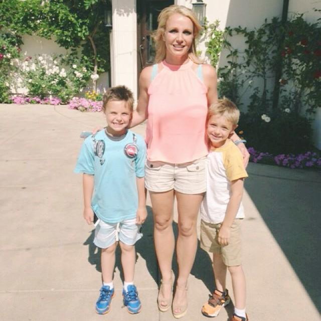 Дети Бритни Спирс - фото, личная жизнь