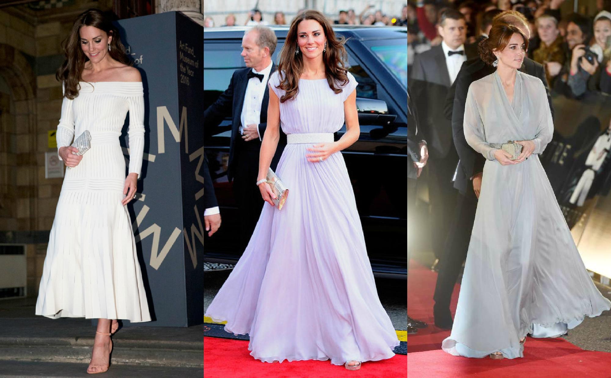 Платья Кейт Миддлтон - стиль в одежде герцогини