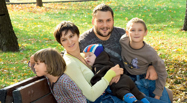 Дети Олеси Железняк — семья актрисы