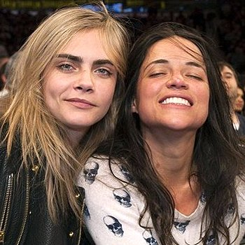 Мишель Родригес и ее девушка — фото