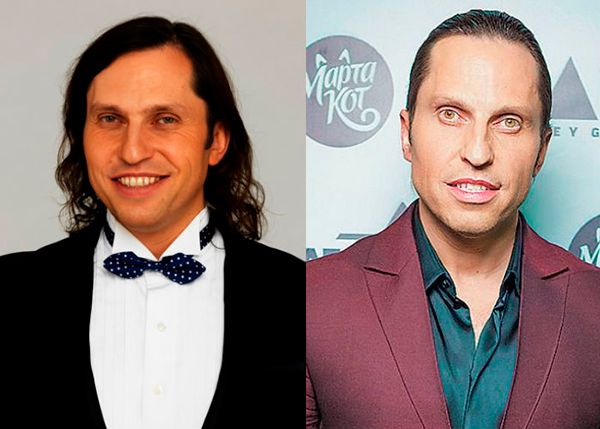 Александр Ревва до и после пластики