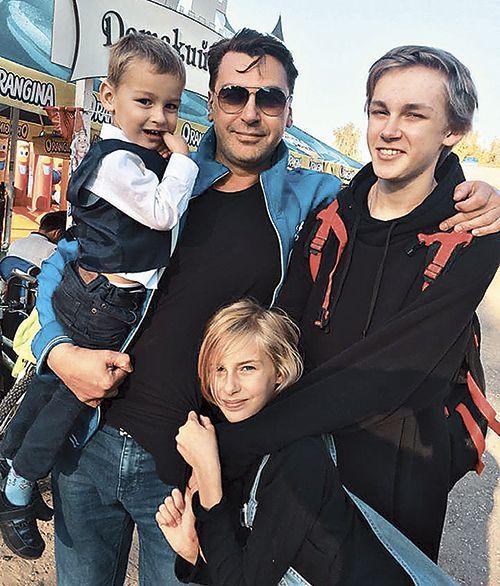 Дети Екатерины Гамовой