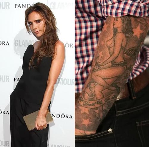 Кто из звезд сделал тату в знак большой любви