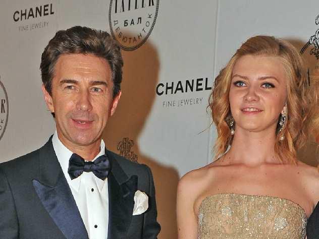 Валерий Сюткин и его дочь