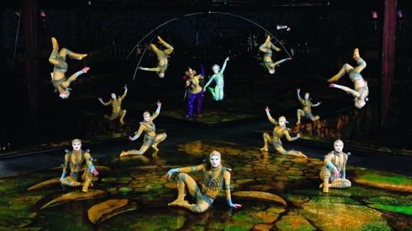 5 российских артистов из цирка Дю Солей