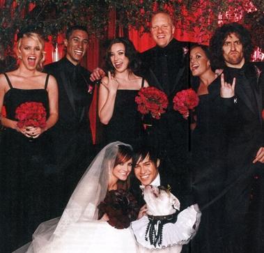 3 необычные свадьбы знаменитостей