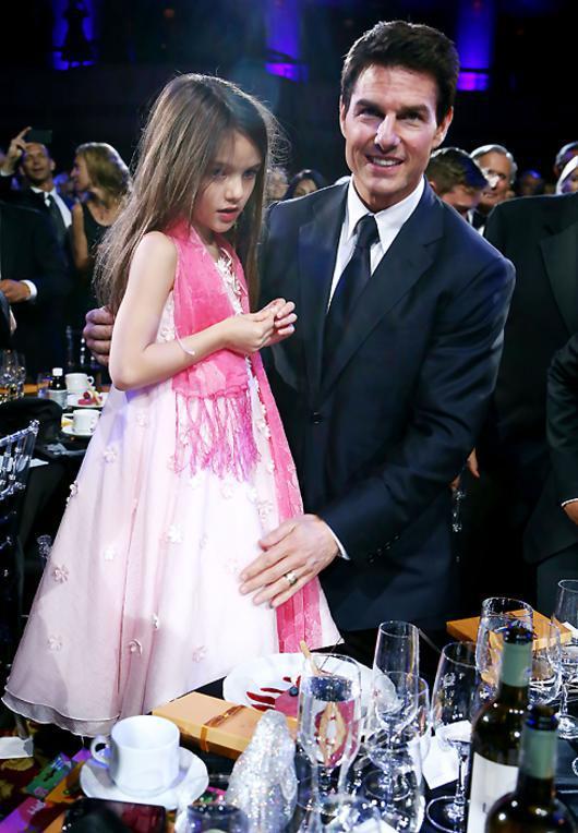Том Круз и дочь