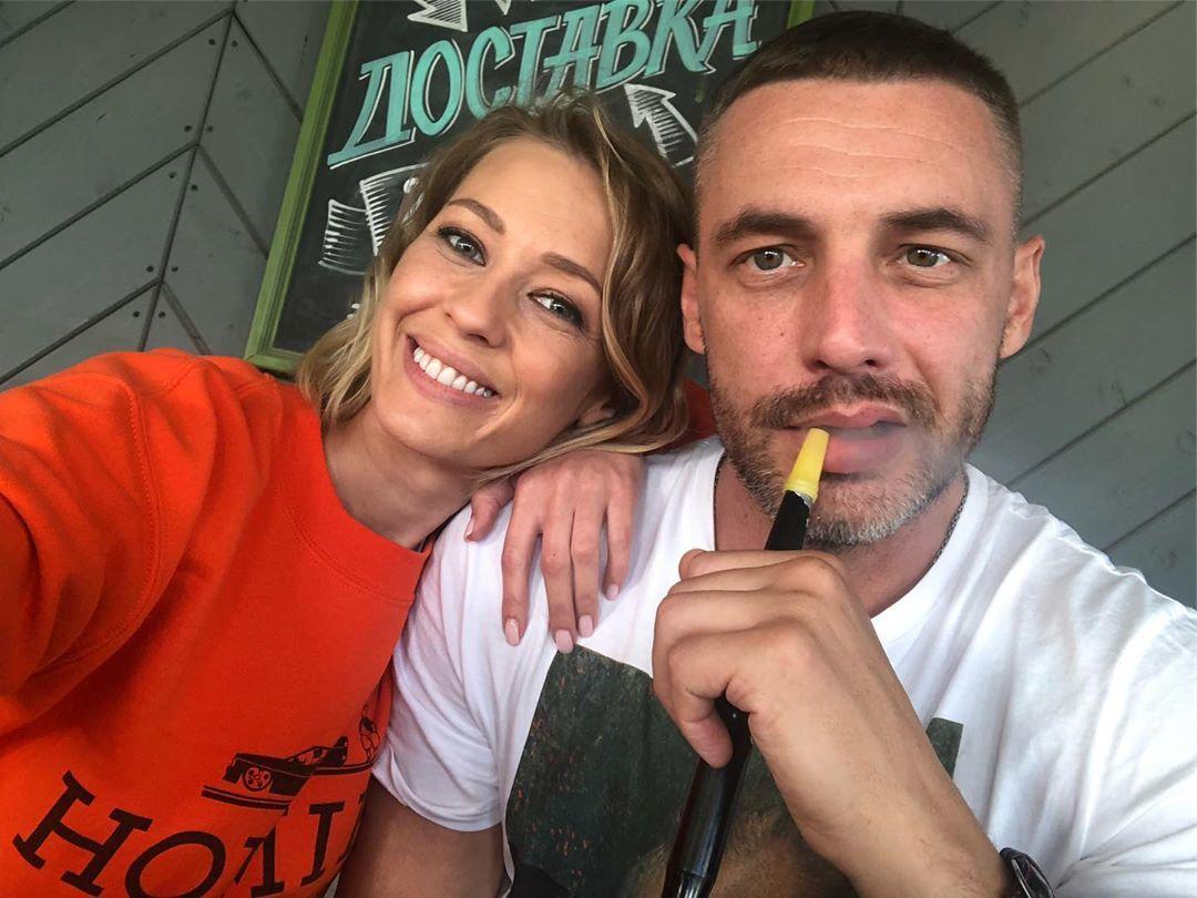Евгения Лоза и ее муж