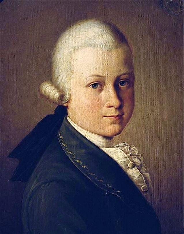 Картинки детство моцарта