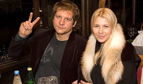 Жена Александра Емельяненко — фото