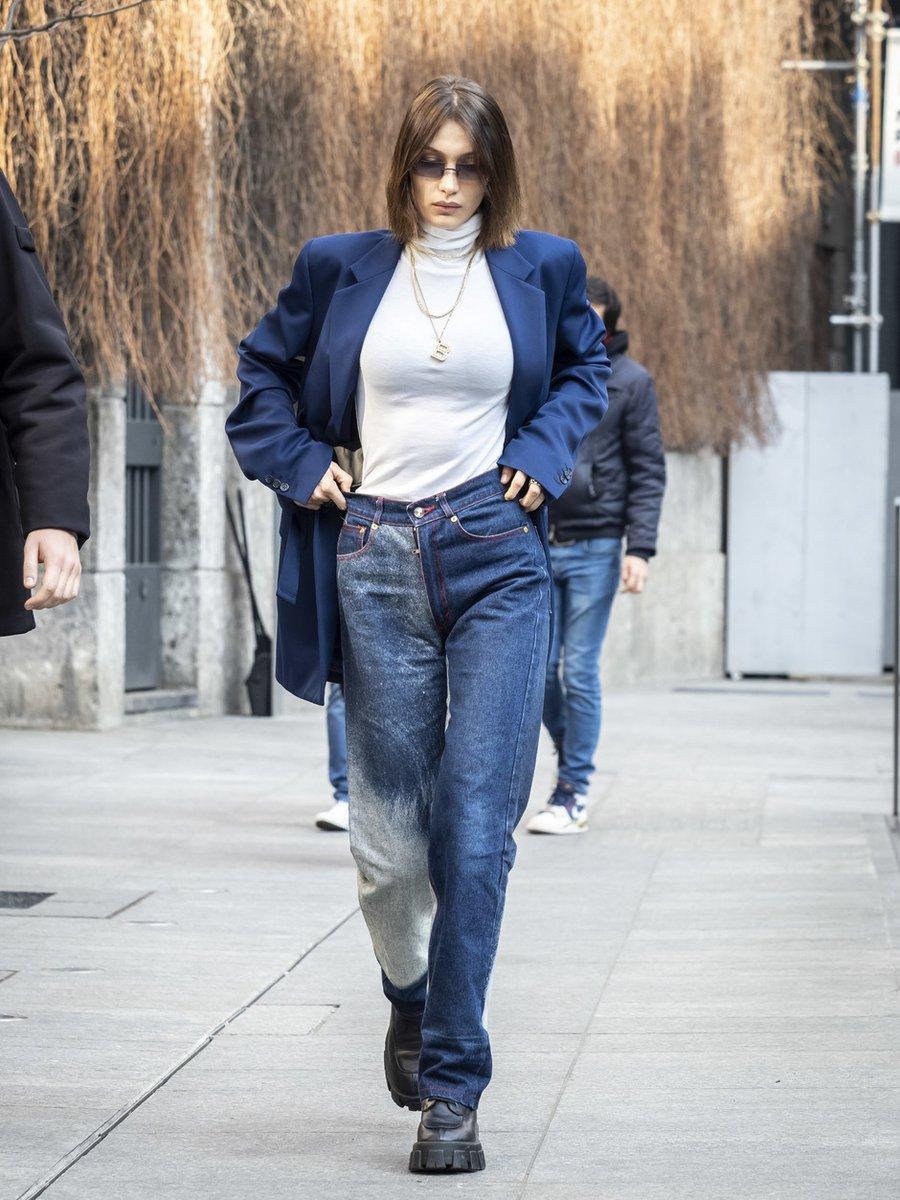 7 звездных способов носить джинсы весной 2020